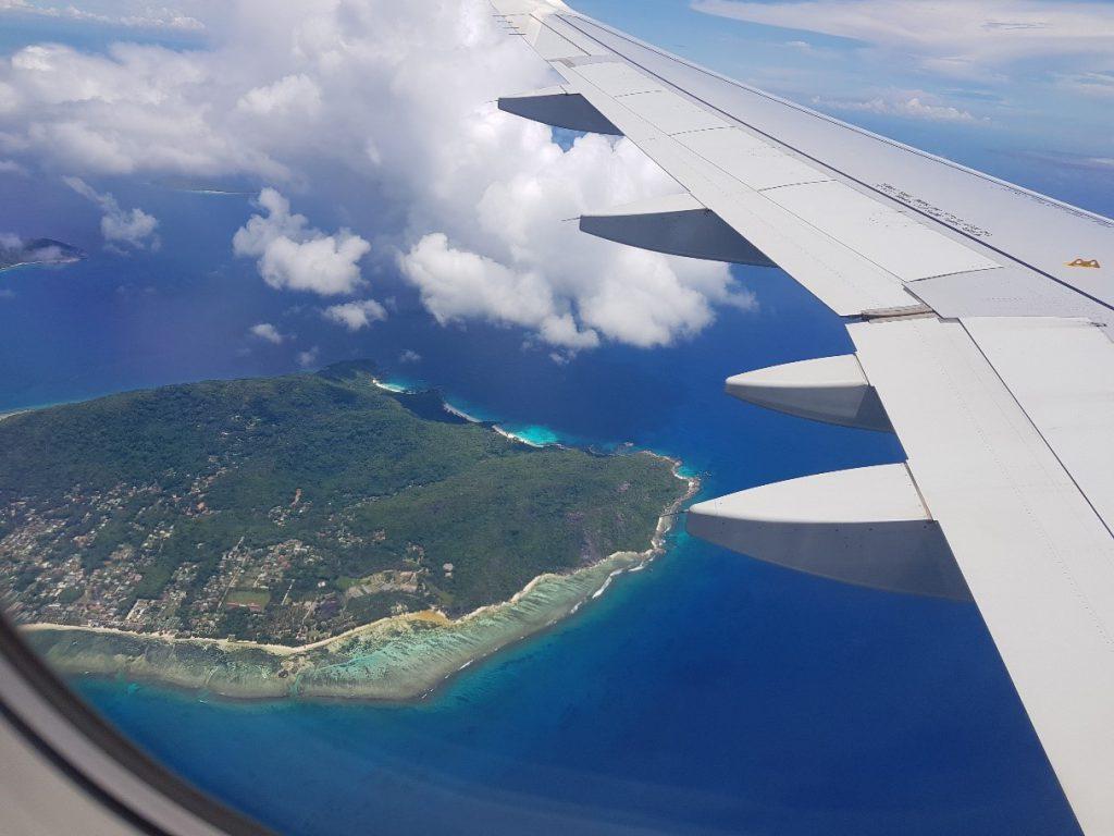 Travel tip Seychelles flight