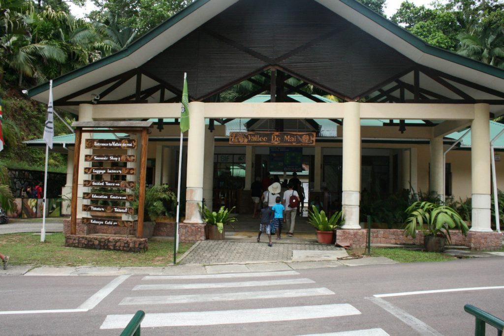 Landmark building in Seychelles