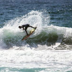 Surfing in Ghana