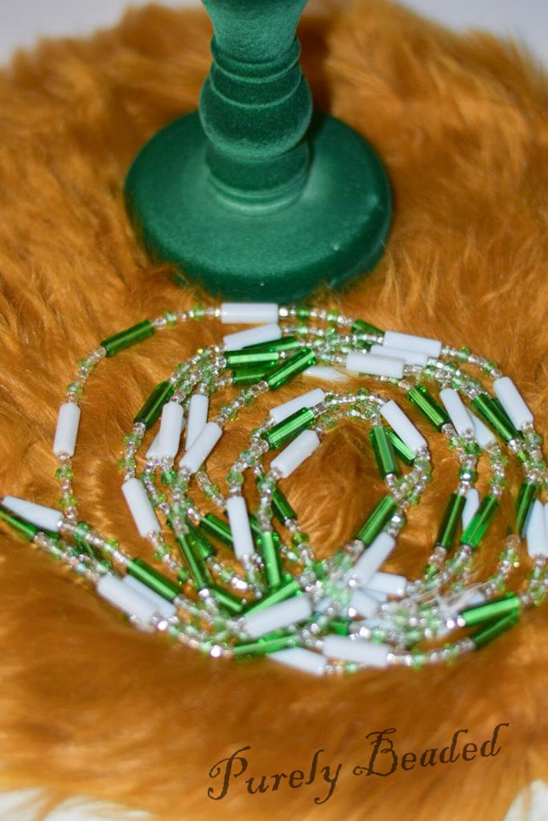 Handmade Glass seed waist Beads